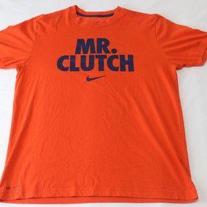 Nike Dri – Fit MR.CLUTCH Red Cotton L Mens T-Shirt